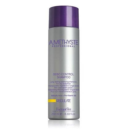 Шампунь для жирной кожи головы Amethyste regulate, 250 мл.