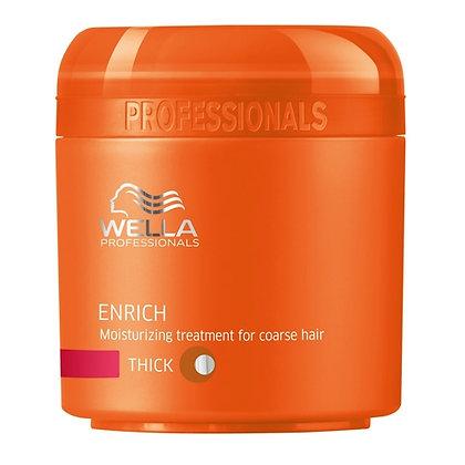 Питательная крем-маска для жестких волос Wella Enrich, 150 мл.