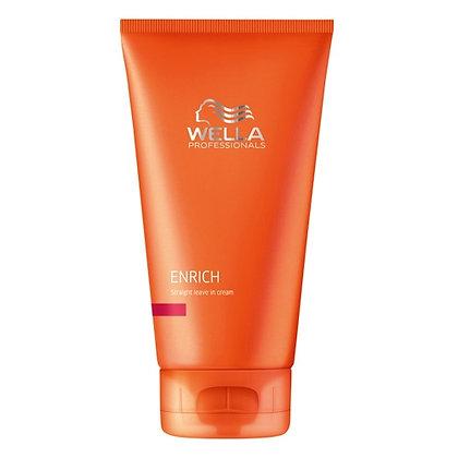 Питательный крем для выпрямления волос Wella Enrich, 150 мл.