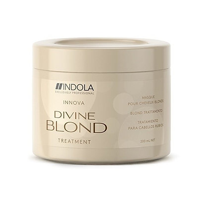 Восстанавливающая маска для светлых волос Indola Divine Blond Treatment, 200 мл