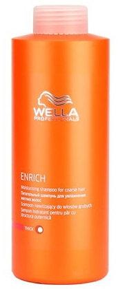 Питательный шампунь для увлажнения жестких волос Wella Enrich, 1000 мл.