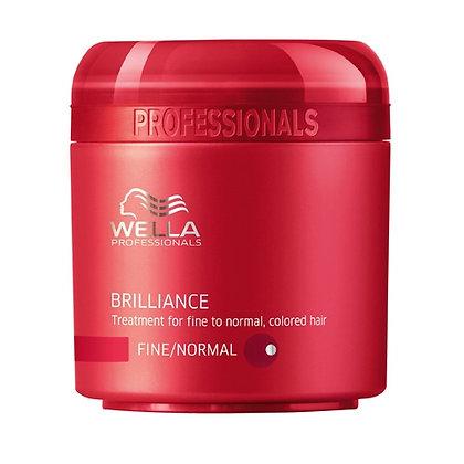 Крем-краска для окрашенных нормальных и тонких волос Wella Brilliance, 150 м.