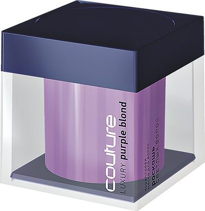Коралловая маска для волос Estel Haute Couture Purple Blond 200 мл