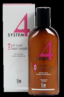 Терапевтическая пилинговая маска О для кожи головы, 500 мл.