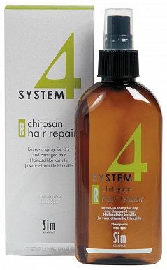 Терапевтический спрей R, для слабых и поврежденных волос, 200 мл.