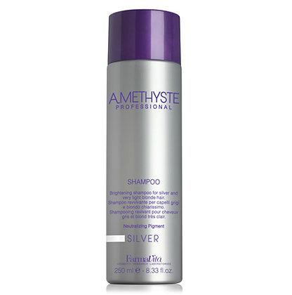 Осветляющий шампунь для седых и светлых волос Amethyste Silver Shampoo, 250 мл.