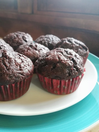 Chocolate & Beetroot Muffins