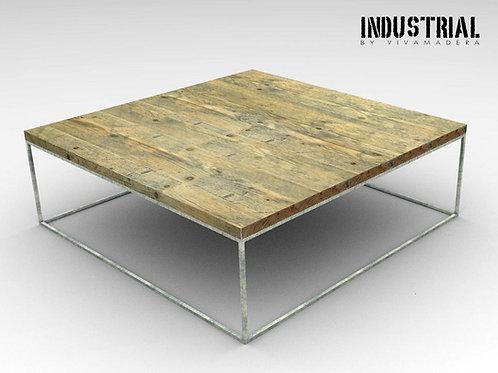 Mesa de centro hierro 1.2 x 1.2 cm