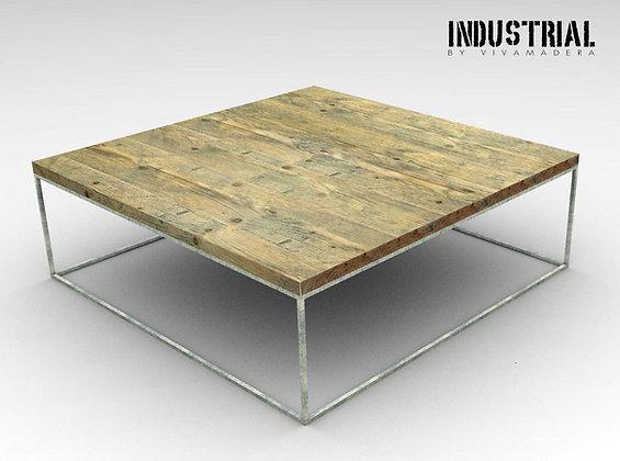 Mesa de centro hierro 1x1