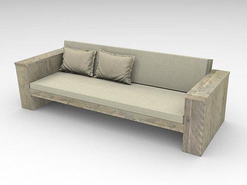 Sofa recto con brazos