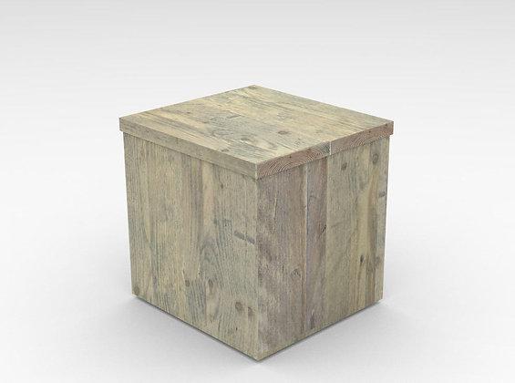 Taburete cubo
