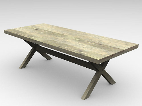 mesa patas X