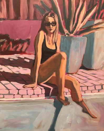 Woman in Pool #2
