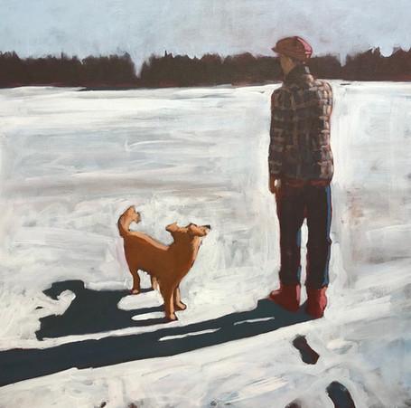 Man and Dog #2