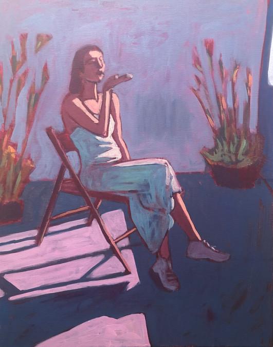 Woman at Window #3