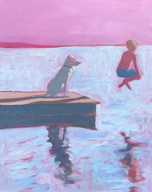 boy and dog at lake.jpg