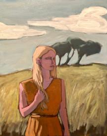 Woman in Field #2