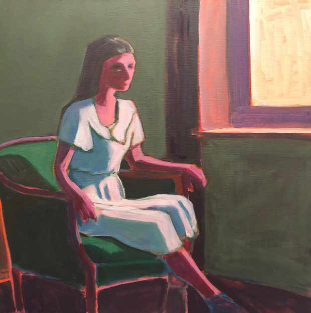 Woman in Chair #4