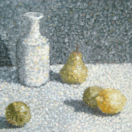 poitilism with pear, lemon.jpg