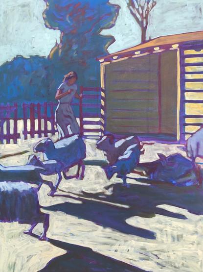 Woman on Farm 30x40.jpg