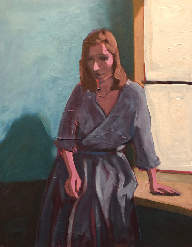 Woman at Window #2