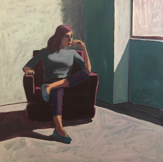 Woman in Chair #7