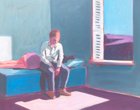 "Hopper Study ""Excursion into Philosophy"""