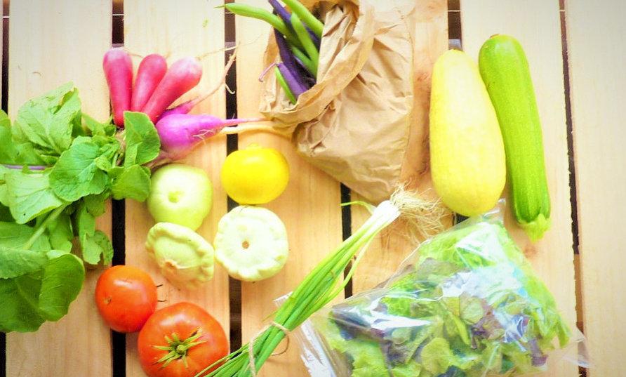 Weekly small fresh produce box - 10 week subscriptio