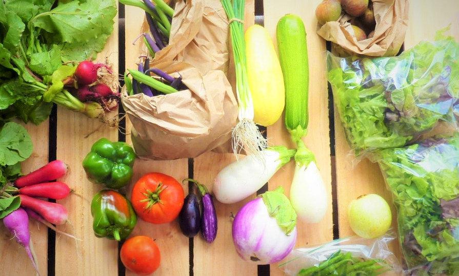 Weekly large fresh produce box - 10 week subscriptio