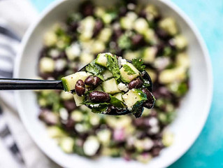 Cucumber and Black Bean Salad