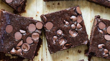 Double Chocolate Black Bean Brownies