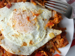 Bacon & Sweet Potato Hash