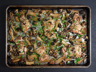 Sheet Pan Chicken and Veggies