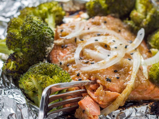 Sweet Onion Teriyaki Salmon
