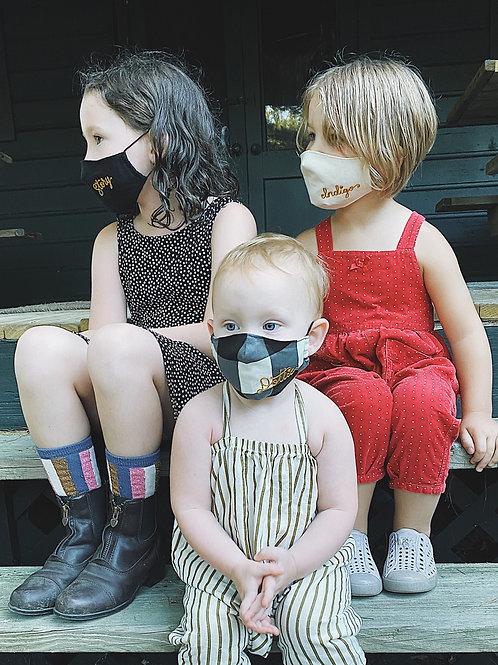 Custom chainstitch masks