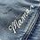 Thumbnail: Do No Harm Take No Shit Oversize Crop Denim Jacket