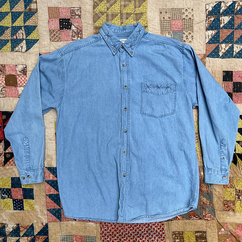 Barbed Button Down