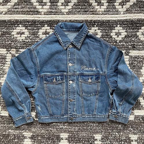 Semi Custom Oversized Cropped Jacket
