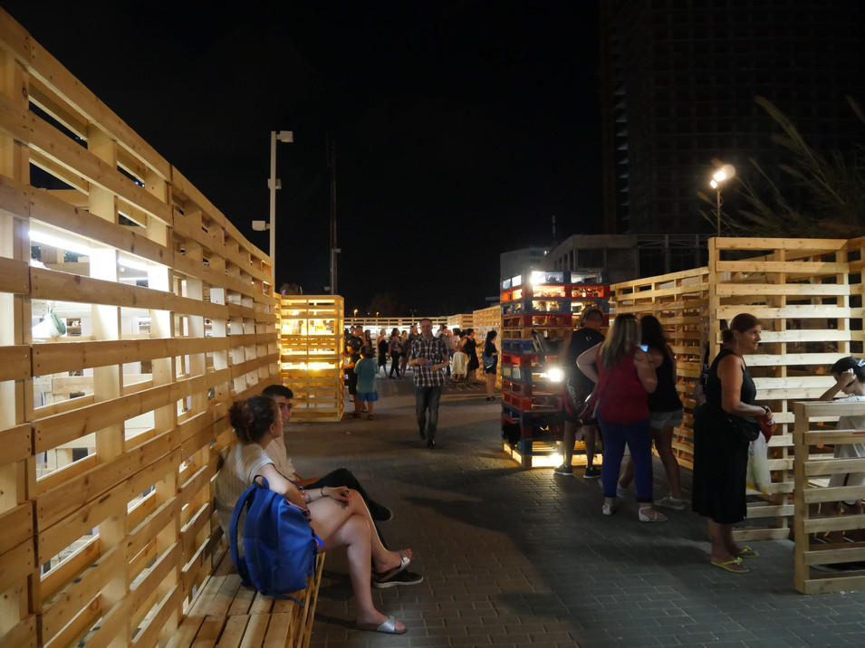 Bat-Yam: Archival-City, Installation
