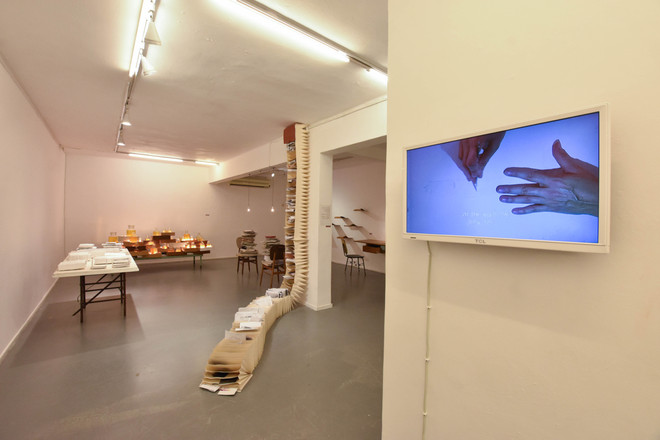 Havatzelet File, Installation View 1