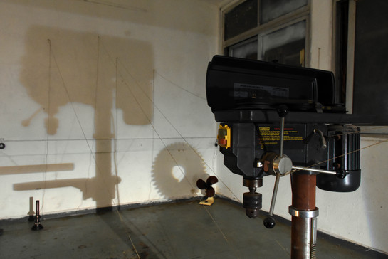 Drill and drill shadow
