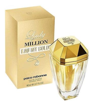 LADY MILLION EAU MY GOLD 80ML
