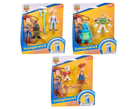 FISHER PRICE  IMAGINEXT TOY STORY 4 FIGURAS