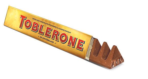 CHOCO TOBLERONE 200GR GOLD MILK