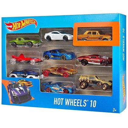 HOT WHEEL AUTOS PACK X10