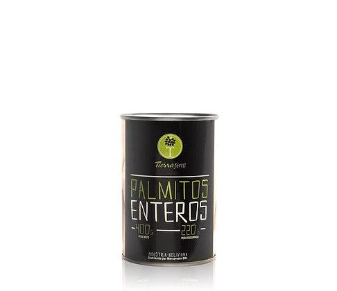 PALMITOS ENTEROS TIERRA FERTIL 400GRS