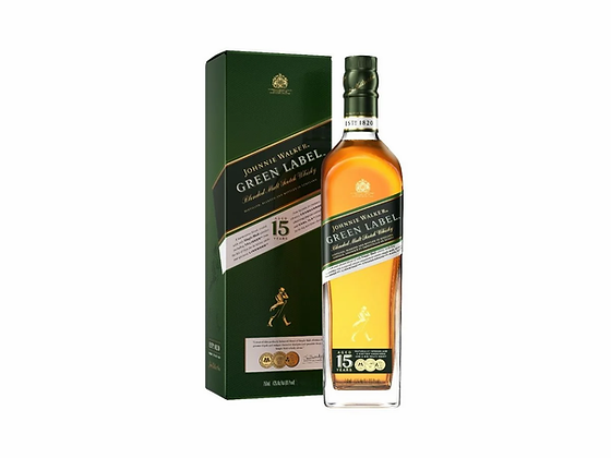 J.W GREEN 15 YEARS 750ML