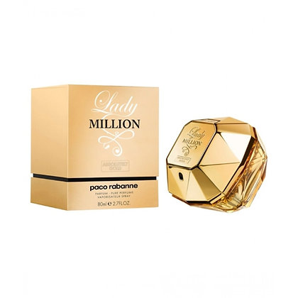 LADY MILLION ABSOLUTLY GOLD PARF 80ML