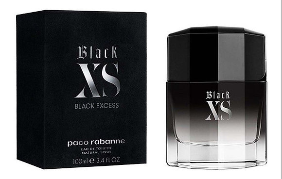 BLACK XS EDT 100ML MEN