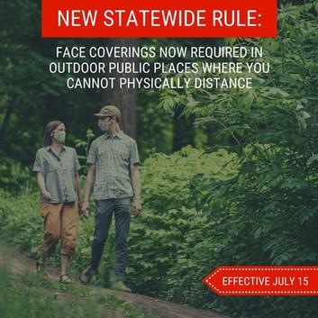 Outdoor Mask Rule
